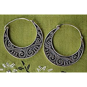 The Desi Soul Ornate Balis Earrings