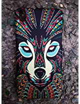 GVC 2015 SHINES IN DARK LIMITED EDITION 3D cute Cartoon Animal world DEER Phone Case Cover For HTC DESIRE 816 : DEER