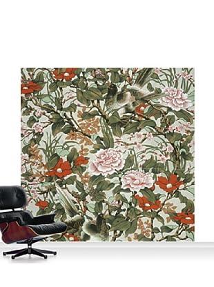 Warner Textile Archive Huan Mural, Standard, 8' x 8'