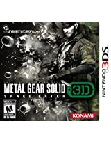 Metal Gear Solid: Snake Eater (Nintendo 3DS) (NTSC)