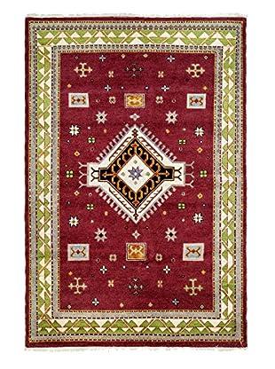 Darya Rugs Kazak Oriental Rug, Red, 6' 8