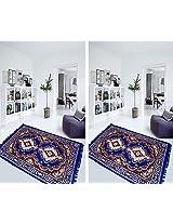 AAZEEM Polyester Carpet pack of 2