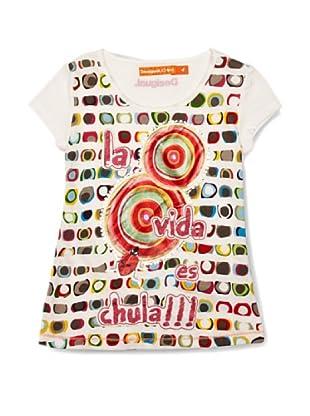 Desigual Camiseta Carolina (Blanco)
