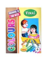 Vimal colors activity book. Part : 0