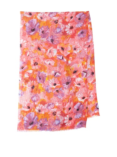 Lulla by Bindya Women's Jenna Scarf (Pink)