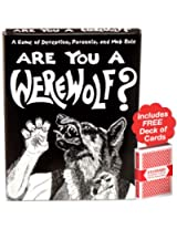 Are You a Werewolf? Card Game. Plus Free Deck of Cards