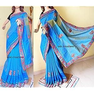 Ala Creations Handloom Cotton Saree