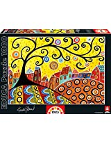 Blooming Village, Karla Gerard Educa 1000 Piece Puzzle