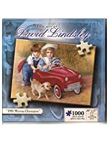 The Art Of David Lindsley 1951 Murray Champion 1000 Piece Jigsaw Puzzle