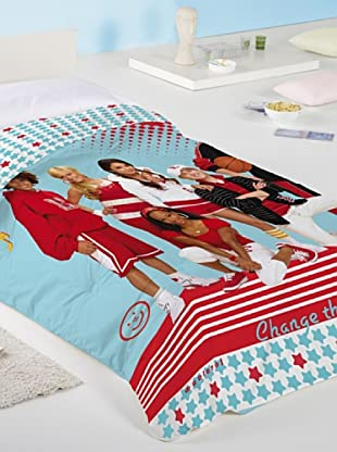 Disney Home Piumino High School Musical (Celeste/Rosso)