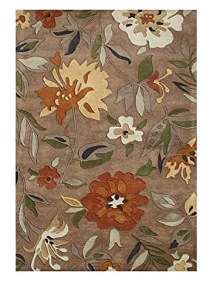 Horizon Rugs New Zealand Wool Rug (Rust/Olive/Beige Multi)