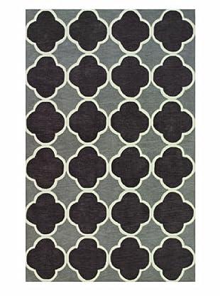 Dalyn Infinity Geometric Rug, Charcoal (Charcoal)
