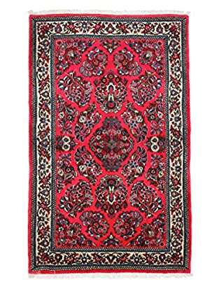 Darya Rugs Persian One-of-a-Kind Rug, Pink, 4' 2' x 7'