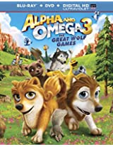Alpha & Omega: The Great Wolf Games [Blu-ray]