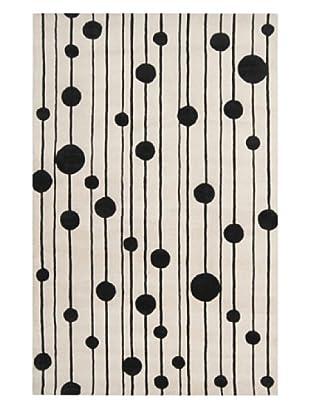 Surya Candice Olson Modern Classics Rug (Winter White/Jet Black)