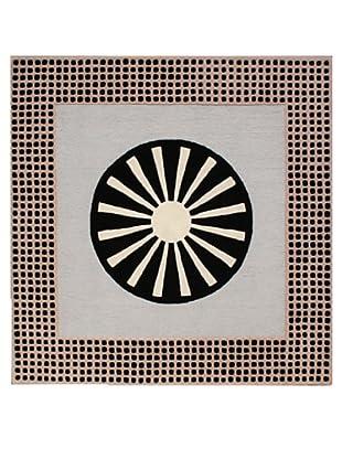 Pompeii for XpressWeave Epiphania Rug (Black/White/Grey)