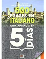 500 frases en italiano para aprender en 5 días / 500 Italian phrases to learn in 5 days