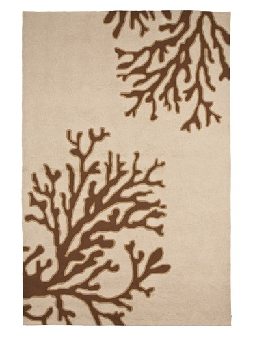 Jaipur Rugs Inc. Hand-Hooked Bough Out Rug (Beige/Brown)