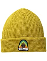 Coal Men's Summit Beanie, Heather Mustard, One Size