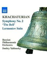Khachaturian: Symphony No. 2 [Russian Philharmonic Orchestra; Dmitry Yablonsky] [Naxos: 8570436]