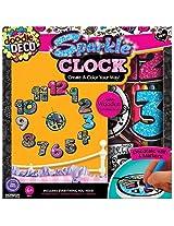 Sparkle Clock, Multi Color