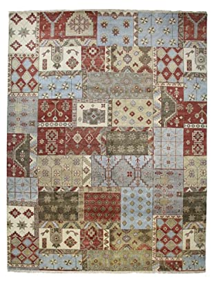 Bashian Rugs One-of-a-Kind Hand Knotted Indo-Oushak Rug, Multi, 9' 3