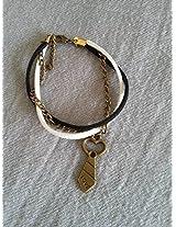 Knickknack Black n White Charmed Bracelet