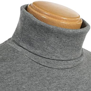 Norikoike Cotton Cashmere Turtleneck MM0407: Grey