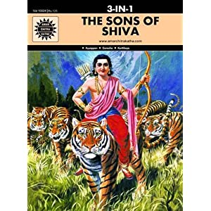 The Sons of Shiva: 3 in 1 (Amar Chitra Katha)