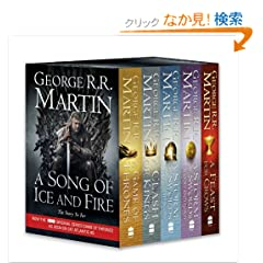 A Game of Thrones: The Story Continues: A Complete Box Set of Volumes 1-4 (A Song of Ice and Fire)