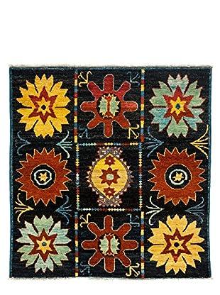 Darya Rugs Kaitag Oriental Rug, Black, 5' 10