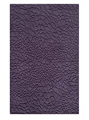 Momeni Pebble Rug, Purple, 5' x 8'