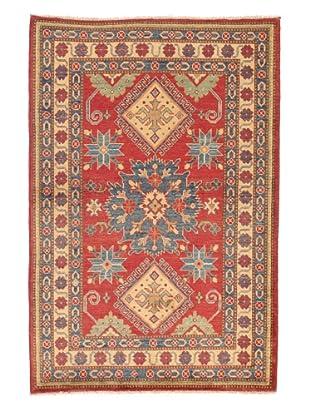 Rug Republic Geometric Kazak Rug (Red/Ivory)