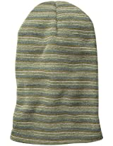 D&Y Women's Striped Cuff Beanie