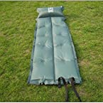 Camping Self-Inflating Inflatable Mat Pillow Air Bed
