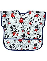 Bumkins Disney Baby Waterproof Junior Bib, Mickey Mouse Classic (1-3 Years)