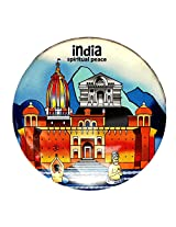 Indiavibes Designer Badge with Spiritual Peace 2 Theme