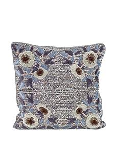 "John-Richard Collection Floral Appliqué Pillow, 20"" x 20"""