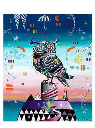 """Giorgio Casu-Owl, 25"""" x 30"""""""