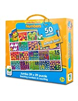 The Learning Journey Jumbo Floor Puzzles, Number Floor Puzzle