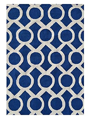 The Rug Market Medal Rug (Navy/White)