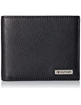Tommy Hilfiger Kongsberg Plus Black Men's Wallet (TH/KONG01GCW/BLK)