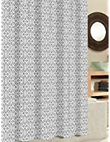 Ex-Cell Tiles Fabric Shower Curtain, 70 by 72-Inch