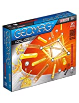 Geomag 30-Piece Color Construction Set with Assorted Panels - Mentally Stimulating for Children and Adults - Safe and High Quality Construction - For Ages 3 and Up