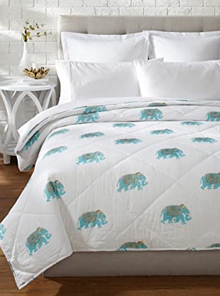Better Living Tripolia Quilt (Turquoise)