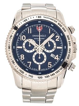 Swiss Eagle Reloj Field Landmaster azul