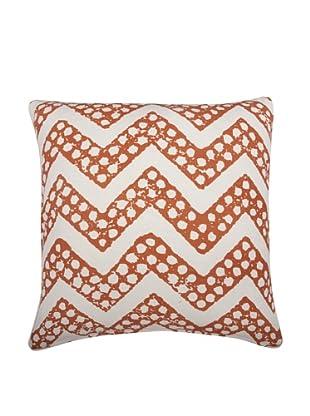 Thomas Paul Chevron Feather Pillow, Alcazar