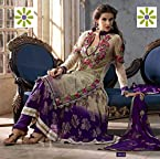 Purple Anarkali Salwar Kameez-TBSUADIT8010