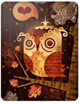 """GelaSkins Protective Skin for the Apple iPad """"The Enamored Owl"""" with Access to Matching Digital Wallpaper Downloads"""