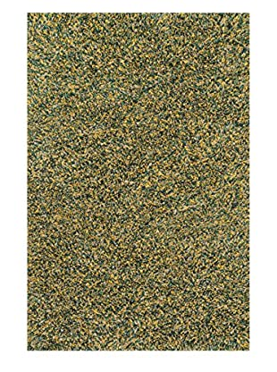 Loloi Rugs Cleo Shag Rug (Teal/Gold)